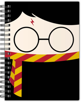 Cute Wizard Divination Notebook