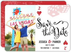 Las Vegas Poker Save The Date Announcement