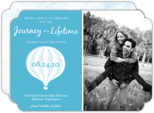 Blue Journey of a Lifetime Save the Date