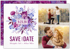 Classic Pale Yellow  Save the Date Card
