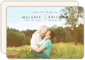 Simple Title Save The Date