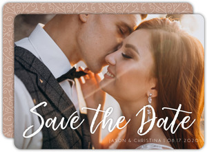 Cute Getting Married Owls Save The Date