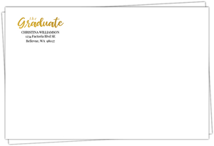 The Graduate Custom Envelope