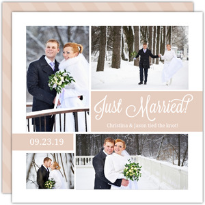 Wedding Photo Collage Wedding Announcement