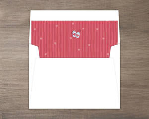 Romantic And Rustic Love Jar Envelope Liner