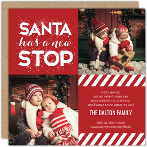 Santa Has New Stop Holiday Moving Announcement