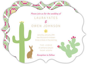 Southwestern Desert Wedding Invitation