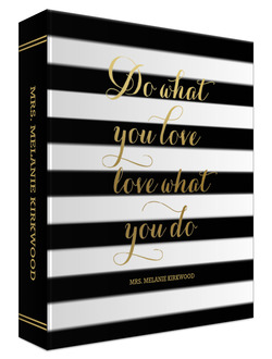 Do What You Love Custom 3 Ring Binder