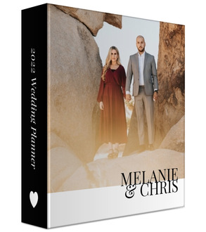 Modern Type Photo Custom 3 Ring Binder