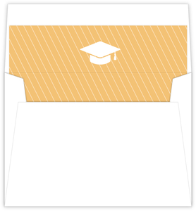 Simple Graduation Cap Envelope Liner