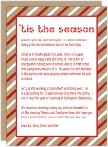 Tis the Season Letter Writing Paper