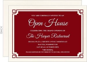 Business open house invitations business open house announcements business open house invitations stopboris Image collections