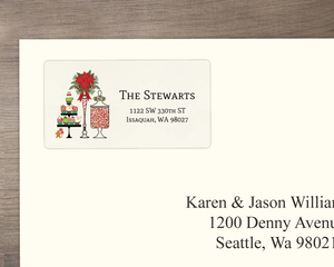 Holiday Sweets Address Label