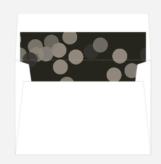 Muted Confetti Envelope Liner
