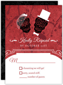 Love at First Fright Halloween Response Card