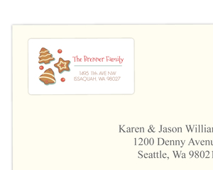 Cookie Decoration Swap Address Label