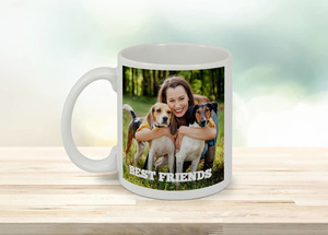 Best Friends Photo Mug