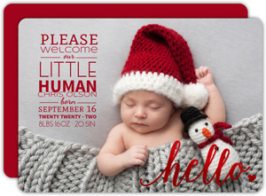 christmas birth announcements christmas baby announcements