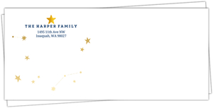 Festive Star Envelope