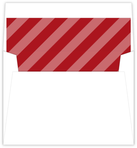 Holly Red Stripes Liner