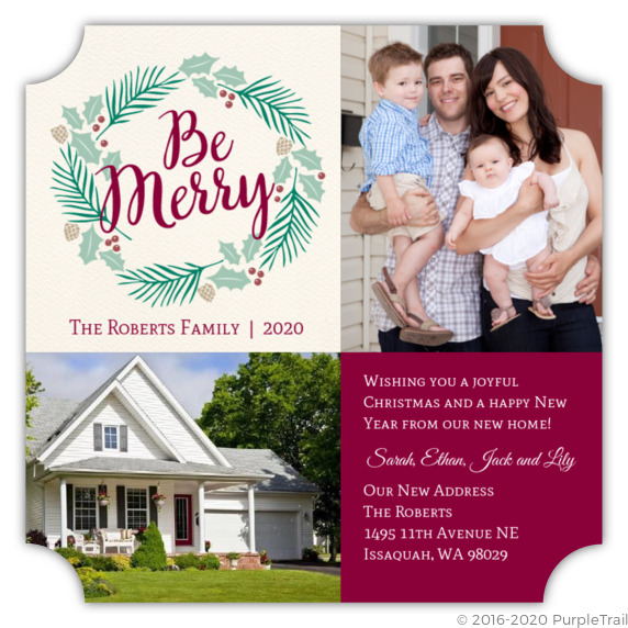 be merry moving announcement christmas moving announcements