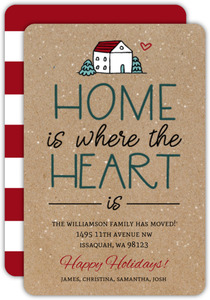 Heart Is Home Holiday Moving Announcement