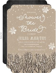 81ca7b4fd93e Christmas Bridal Shower Invitations   Christmas Wedding Shower ...