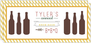 Summer Brew Bash and BBQ Invitation