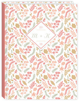 Spring Pink Foliage Wedding Planner