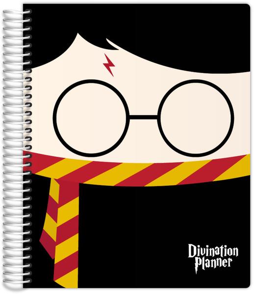 Cute Wizard Divination Weekly Planner