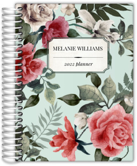 Vintage Rose Custom Daily Planner