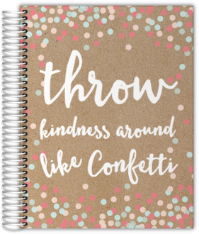Kindness Confetti Custom Daily Planner