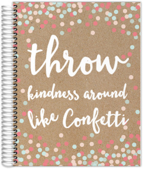 Kindness Confetti Custom Monthly Planner