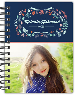 Floral Frame Notebook