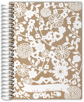 Floral Cutout Daily Planner