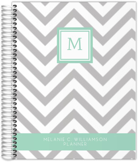 Simply Chevron Custom Monthly Family Planner
