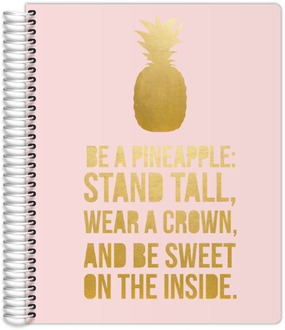 Be A Pineapple Custom Daily Planner