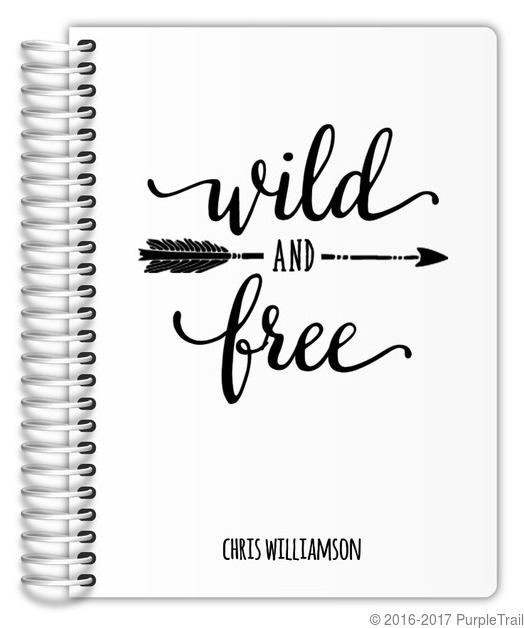 Wild and Free Custom Daily Planner