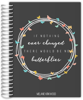 Butterfly Quote Daily Planner