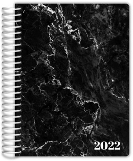 Black Marble Daily Planner