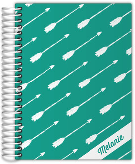 Arrow Pattern Custom Monthly Planner