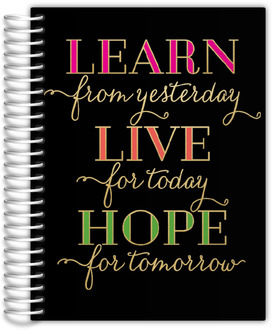 Learn Live Hope Daily Planner