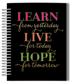 Learn Live Hope Monthly Planner