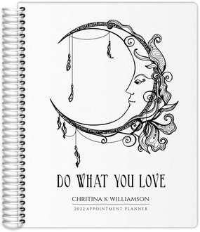 Sketchy Diamond Pattern Custom Monthly Planner
