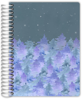 Nighttime Forest Daily Planner