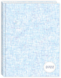 Blue Grunge Pattern Daily Planner
