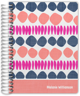 Circle Doodle Pattern Daily Planner