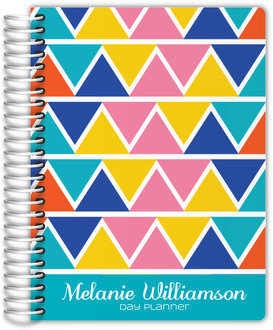 Tropical Triangles Custom Daily Planner