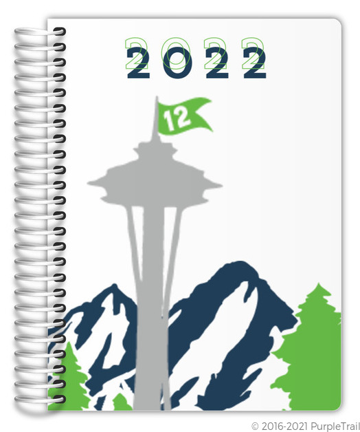Northwest Fan Custom Daily Planner Daily Planners - Custom daily planner