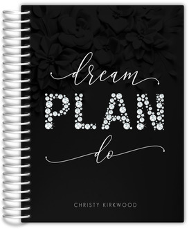 Faux Diamond Quote Daily Planner